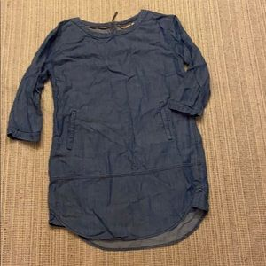 ANTHRO JEAN DRESS BY HOLDING HORSE SIZE S/M